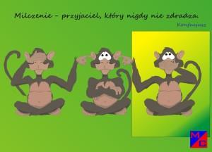 Małpa milczeniejpg