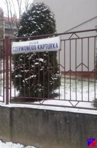 ULICA CZERWONEGO KAPTURKA